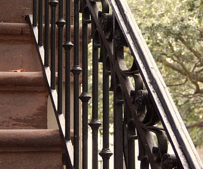 Wrought Iron Railing Original by Terry Cobb
