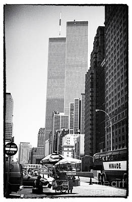 Photograph - Wtc 1990s by John Rizzuto