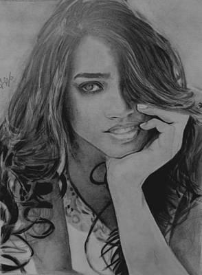Drawing - Wuapa by Luis Carlos A