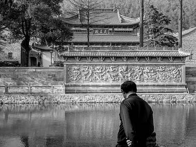Photograph - Wuleisi Monastery by Robert Knight