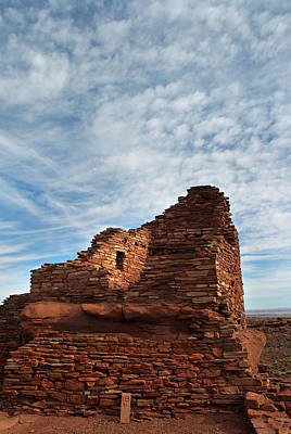 Photograph - Wupatki Nm-wupatki Ruin 11  by Jeff Brunton