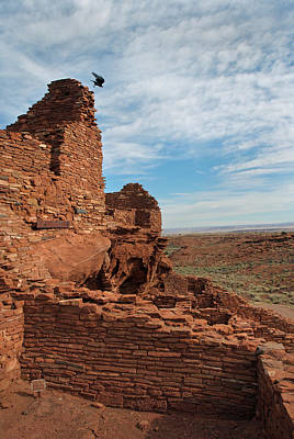 Photograph - Wupatki Nm-wupatki Ruin 15  by Jeff Brunton