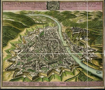 Wurzburg Art Print by British Library
