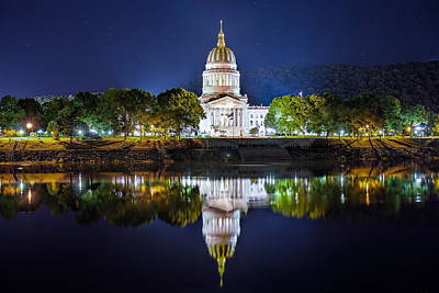 Photograph - Wv Capitol by Mary Almond