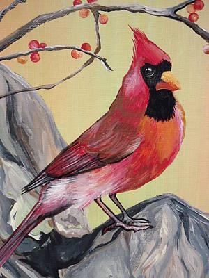 Wv State Bird Art Print