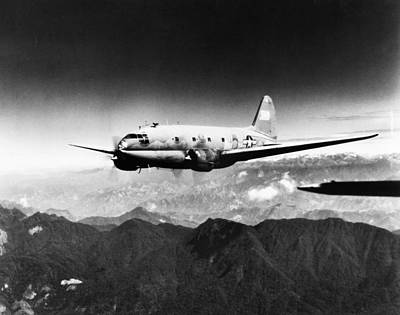 Photograph - Ww II: Transport Aircraft by Granger