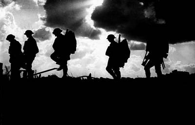 Ypres Photograph - Wwi British Troops, 1917 by Granger