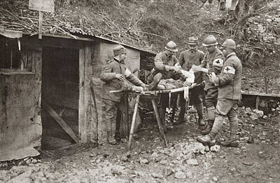 Photograph - Wwi Dressing Station by Granger