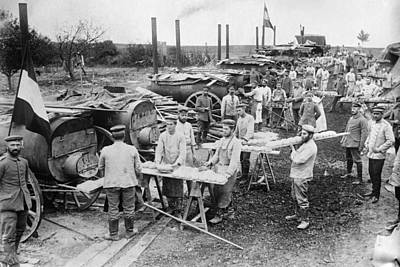 Ypres Photograph - Wwi Field Bakery, 1914 by Granger