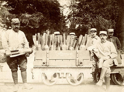 Photograph - Wwi French Munititions by Historic Image