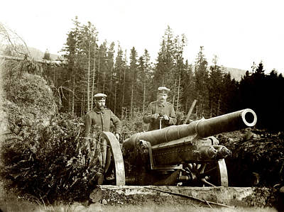 Photograph - Wwi Germany Artillery by Historic Image
