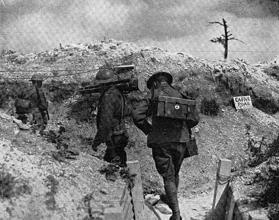 Ypres Photograph - Wwi Photographers, 1917 by Granger