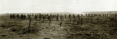 Ypres Photograph - Wwi Ypres, 1917 by Granger