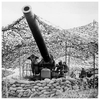 Wwii 240mm Howitzer Original by Steven Parker