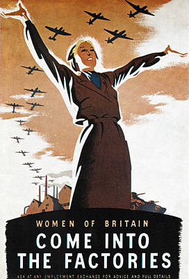 Photograph - Wwii: British Poster by Granger