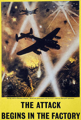 Photograph - Wwii: English Poster, 1944 by Granger