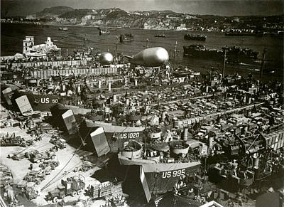Photograph - Wwii Invasion Of Southern France by Historic Image