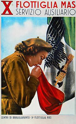 Wwii: Italian Poster Art Print by Granger