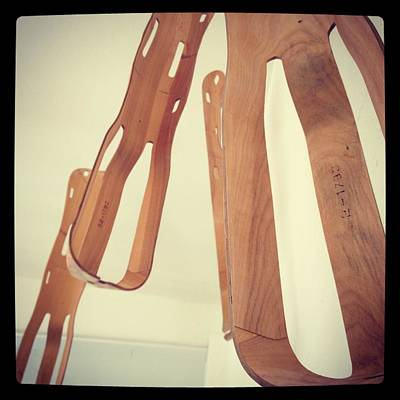 Eames Photograph -  Leg Splint by Todd Cutter