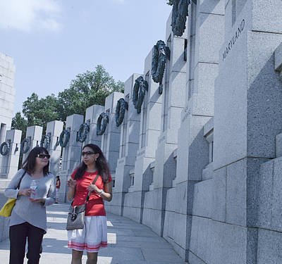 Photograph - Wwii Memorial by MLEON Howard