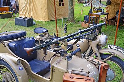 Photograph - Wwii Mg34 Light Machine Gun by Paul Mashburn