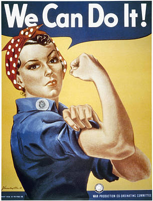 Photograph - Wwii: Rosie The Riveter by Granger