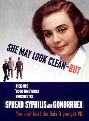 Photograph - Wwii Std Poster, She May Look Clean - by Science Source