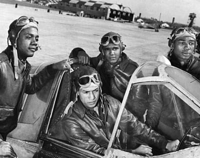 Photograph - Wwii: Tuskegee Airmen by Granger