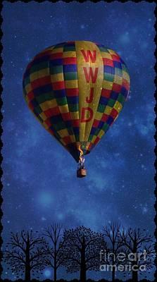 Photograph - Wwjd Balloon by Bobbee Rickard