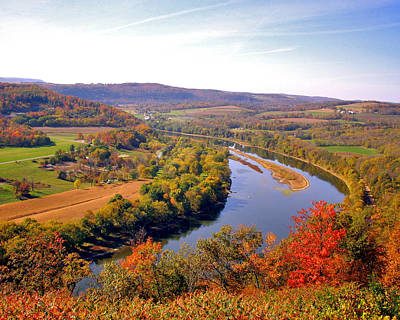 Wyalusing Photograph - Wyalusing Overlook by George Lodge
