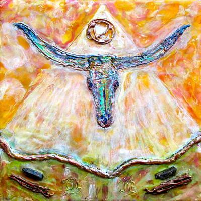 Wyatt The Longhorn Art Print by Joe Bourne