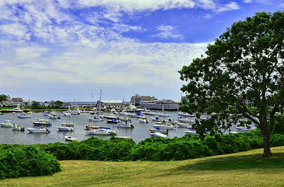 Wychmere Harbor Art Print by Allen Beatty