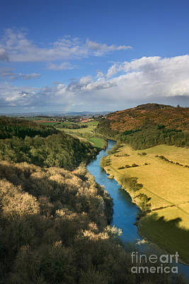 Wye Valley From Symonds Yat Art Print