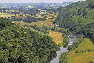Wye Valley Art Print by Tony Murtagh