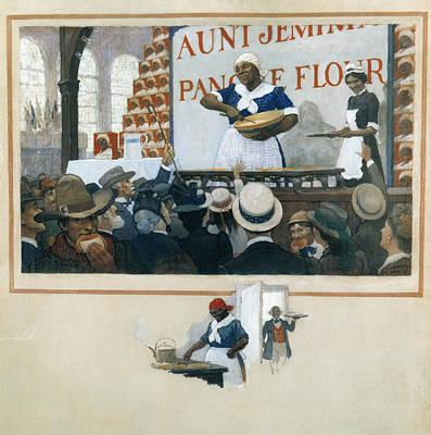 Wyeth Aunt Jemima, C1919 Art Print