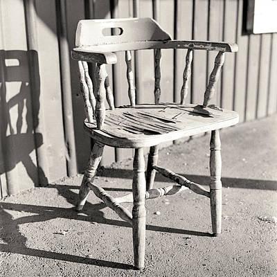 Wylie's Chair Art Print by Will Gunadi
