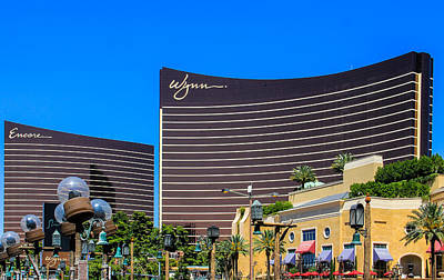Photograph - Wynn And Encore by Eti Reid