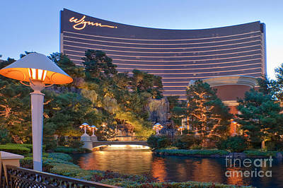 Photograph - Wynn Hotel Casino Las Vegas Nevada by David Zanzinger