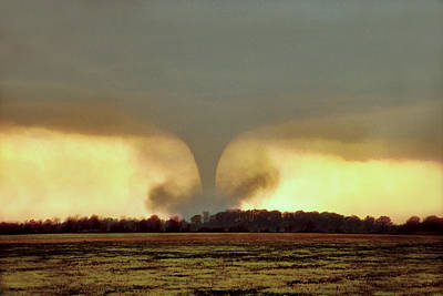 Photograph - Wynne Ar Tornado by Jason Politte