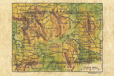 Wyoming 1906 Original