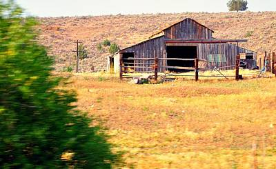 Jerry Sodorff Royalty-Free and Rights-Managed Images - Wyoming Barn 16552 by Jerry Sodorff