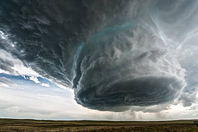 Storm Photograph - Wyoming Beauty by Colt Forney