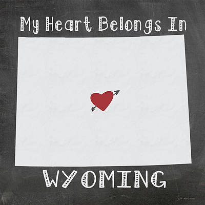 Wyoming Painting - Wyoming by Jo Moulton