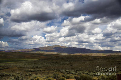 Photograph - Wyoming Landscape IIi by Donna Greene
