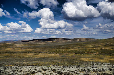 Photograph - Wyoming Landscape V by Donna Greene