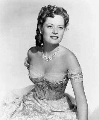 1950 Movies Photograph - Wyoming Mail, Alexis Smith, 1950 by Everett