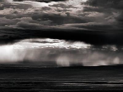 Photograph - Wyoming Rain by Leland D Howard