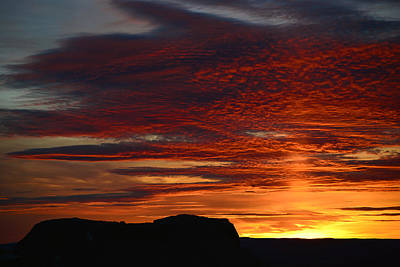 Photograph - Wyoming Sunset #1 by Eric Nielsen