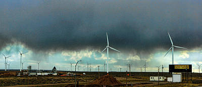 Photograph - Wyoming Wind Farm by Ron Roberts