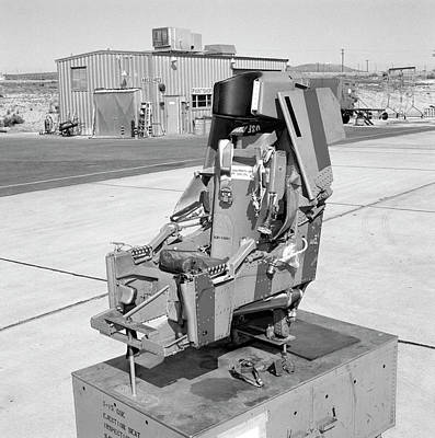 X-15 Aircraft Ejection Seat Art Print